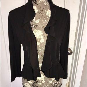 Connected apparel  Shrug size large black